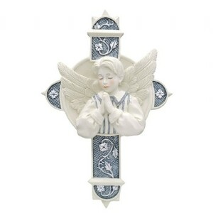 "James by Sarah's Angels - 5.5""  Boy Angel Cross"