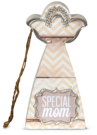 "Special Mom by Radiant Reflections - 4.5"" Self-Standing Angel Ornament"