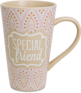 Special Friend by Radiant Reflections - 18oz. Latte Mug