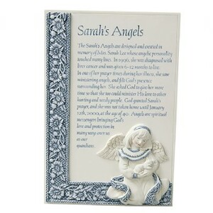 "SA Story Plaque by Sarah's Angels - 6"" Plaque"