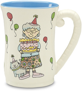 "Party On! by Well Seasoned - 4.5"" Mug"