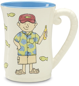 "The Retirement Plan (male) by Well Seasoned - 4.5"" Mug"