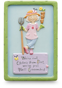 "Well Grounded by Well Seasoned - 3"" Magnet"