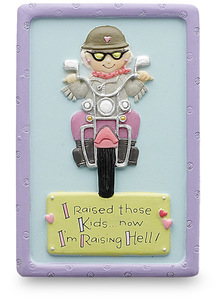 "Raising Hell! by Well Seasoned - 3"" Magnet"