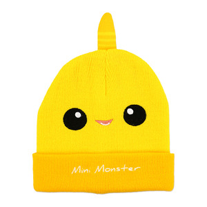 Yellow Mini Monster by Monster Munchkins - One Size Fits All Baby Hat