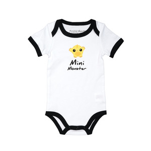 Yellow Mini Monster by Monster Munchkins - 6-12 Months Bodysuit