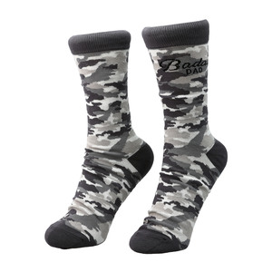 Badass Dad by Camo Community - S-M Cotton Blend Sock