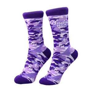 Badass Mom by Camo Community - S-M Cotton Blend Sock