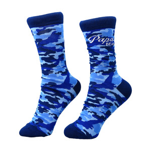 Papa Bear by Camo Community - S-M Cotton Blend Sock
