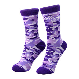 Badass Nurse by Camo Community - S-M Cotton Blend Sock