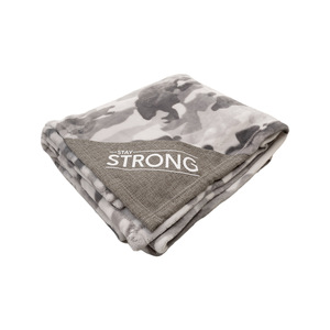 "Strong by Camo Community - 50"" x 60"" Royal Plush Blanket"