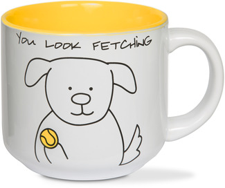 You look Fetching by Blobby Dog - 18 oz Ceramic Mug