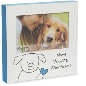 "Mom by Blobby Dog - 7"" Frame (Holds 6"" x 4"" Photo)"