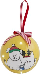 Friends by Blobby Dog - 100 MM Blinking Ornament