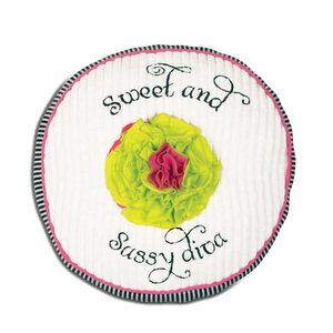 "Sassy Diva by Itty Bitty & Pretty - 12"" Round Pillow"