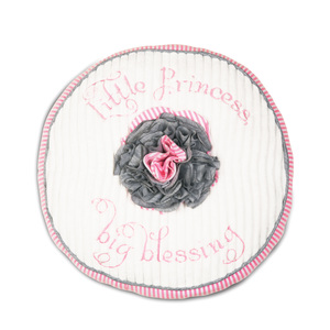 "Prima Ballerina by Itty Bitty & Pretty - 12"" Round Pillow"
