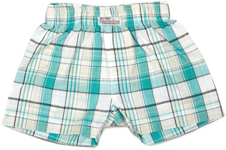 Robin's Egg by Itty Bitty & Pretty - Boxer Shorts (0-3 Months)