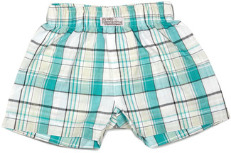 Robin's Egg by Itty Bitty & Pretty - Boxer Shorts (3-6 Months)