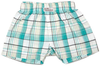Robin's Egg by Itty Bitty & Pretty - Boxer Shorts (6-12 Months)