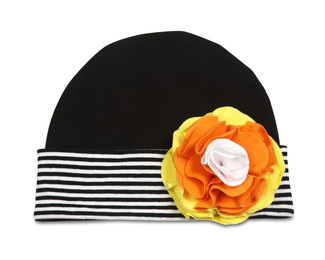 Candy Corn by Itty Bitty & Pretty - Flower Hat (12-36  Months)