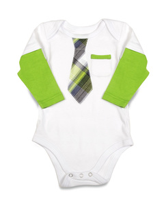 Grasshopper by Itty Bitty & Pretty - Long Sleeve Onesie (6-9 Months)
