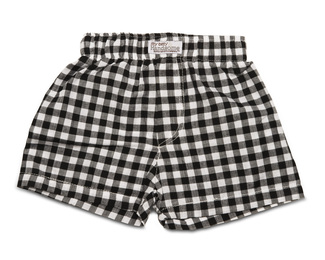 Gingham Style by Itty Bitty & Pretty - Boxer Shorts (0-6 Months)