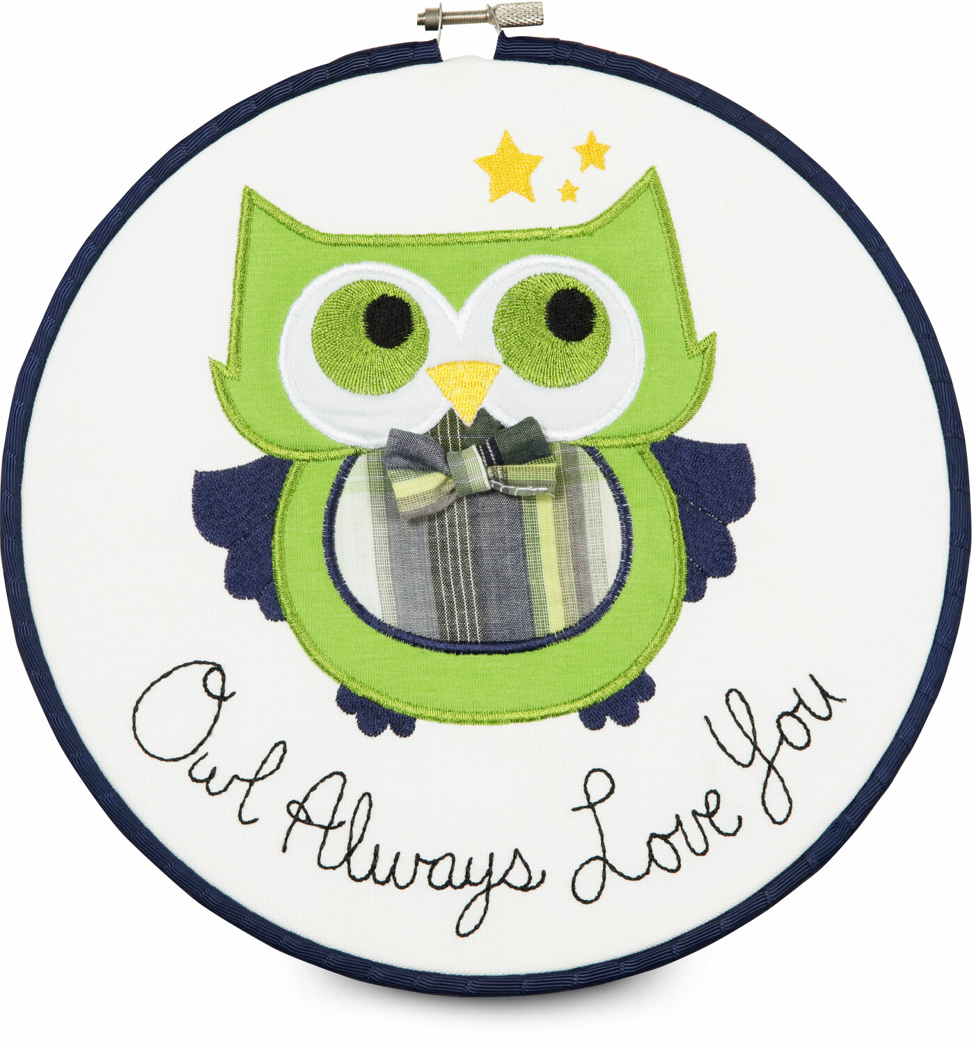 "Grasshopper by Itty Bitty & Pretty - Grasshopper - Owl Always Love You 9.5"" Wall Covering"