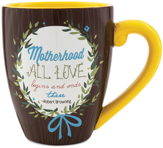 Mother by Words to Breathe By - 20oz Mug