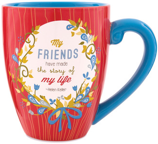 Friend by Words to Breathe By - 20oz Mug