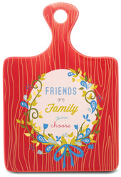 "Friend by Words to Breathe By - 5""x7.25"" Ceramic Trivet"
