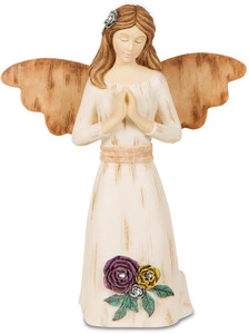 "Prayer by Simple Spirits - 5.5"" Angel Praying"