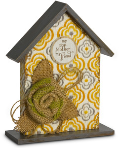 "Mother by Simple Spirits - 7"" Birdhouse Plaque"