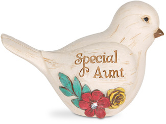 "Aunt by Simple Spirits - 2"" Bird Figurine"
