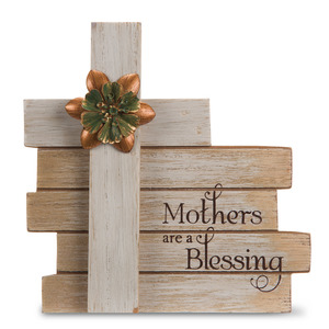"Mother by Simple Spirits - 6"" Cross Plaque"