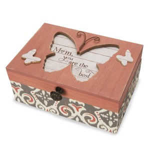 "Mom by Simple Spirits - 6.5""x4.5"" Music Box"