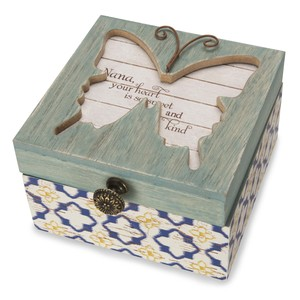 "Nana by Simple Spirits - 4.5"" Keepsake Box"
