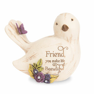 "Friend by Simple Spirits - 3.5"" Bird Figurine"