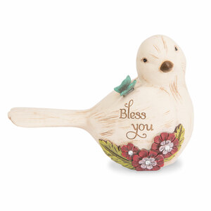 "Bless You by Simple Spirits - 3.5"" Bird Figurine"