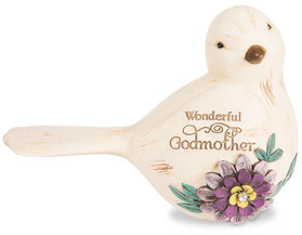 "Godmother by Simple Spirits - 3.5"" Bird Figurine"