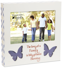 "Family by Simple Spirits - 7"" Frame (Holds 6"" x 4"" Photo)"
