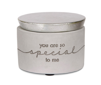 "Someone Special by Sweet Concrete - 3"" x 2.25"" Cement Keepsake Box"