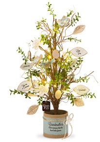 "Grandmother by Branches of Love - 24"" Tree with Ornaments"