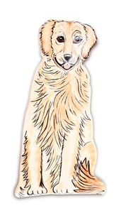 "Darcy - Golden Retriever by Rescue Me Now - 6"" Spoon Rest"