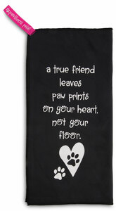 "True Friend by Pavilion's Pets - 6""x12"" Micro Fiber Cleaning Cloth"