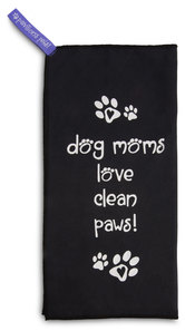 "Dog Moms by Pavilion's Pets - 6""x12"" Micro Fiber Cleaning Cloth"