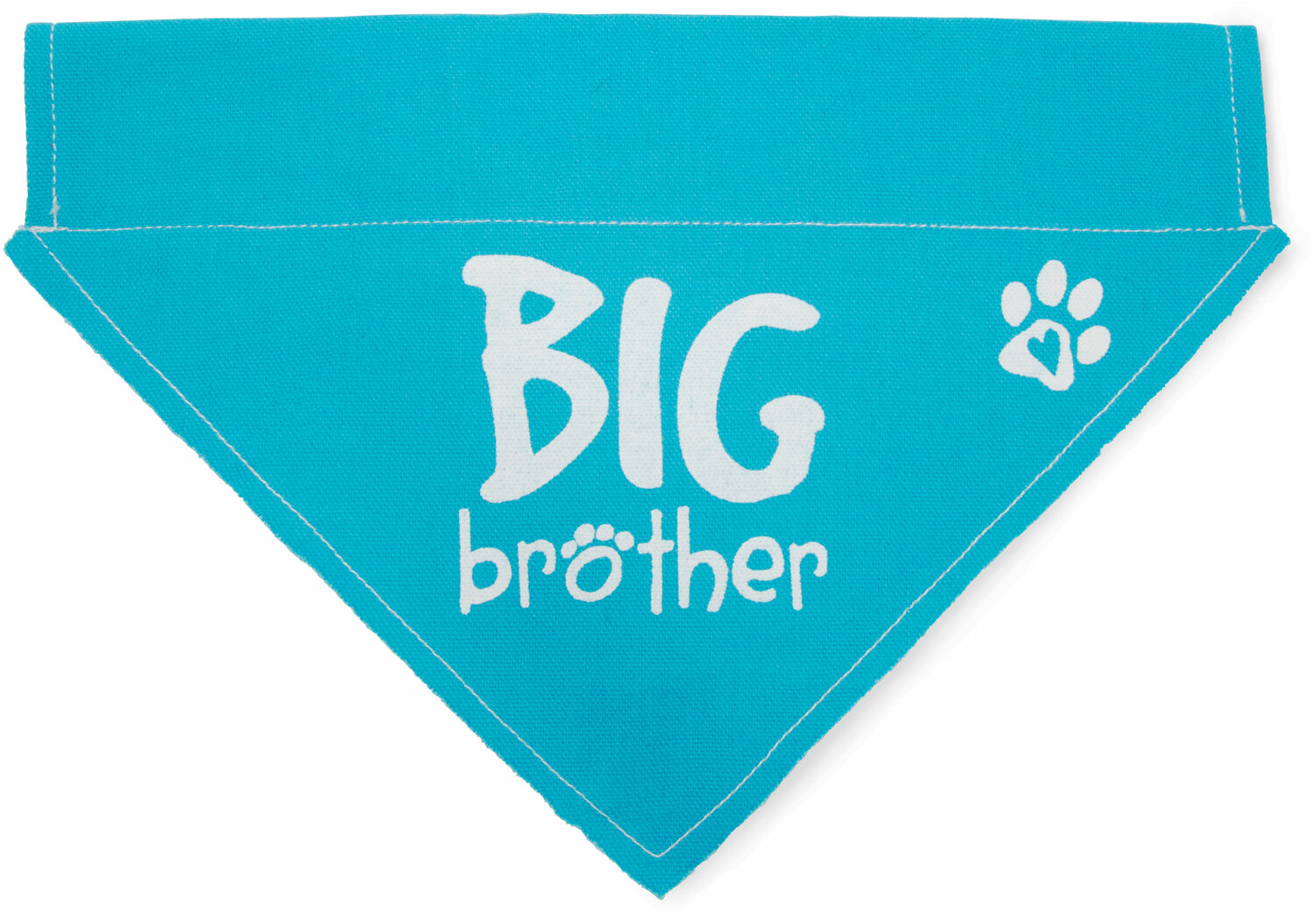 Big Brother by Pavilion's Pets - Blue Big Brother Canvas Large Dog Bandana