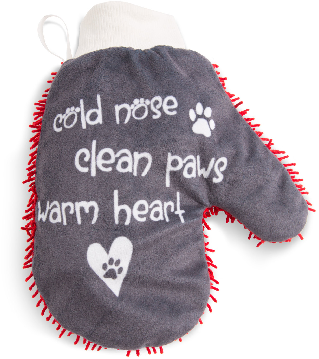 Warm Heart by Pavilion's Pets - Warm Heart - Microfiber Pet Cleaning Mitt