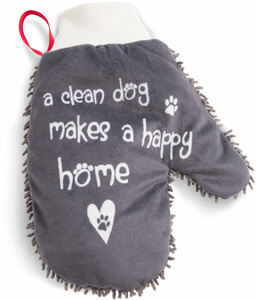 Happy Home by Pavilion's Pets - Microfiber Pet Cleaning Mitt