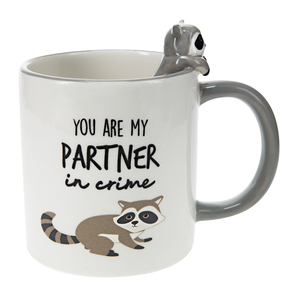 Raccoon by Pavilion's Pets - 17 oz Mug