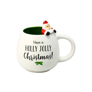 Holly Jolly by Pavilion's Pets - 15.5 oz Mug